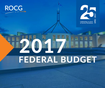 2017 Federal Budget Update - Business Advisor Perth