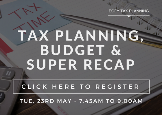 Perth Accountants, Budget Recap, Tax Planning, EOFY