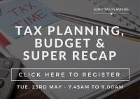 Perth Accountants, Budget Recap, Tax Planning, EOFY