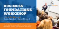 Business Foundations Workshop - Management Consulting - Government Grant - West Perth