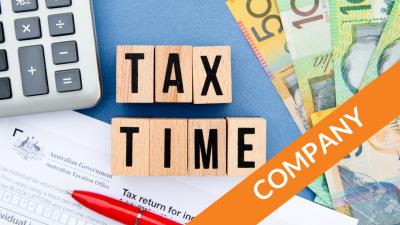 2018 Tax Time Checklist - Company