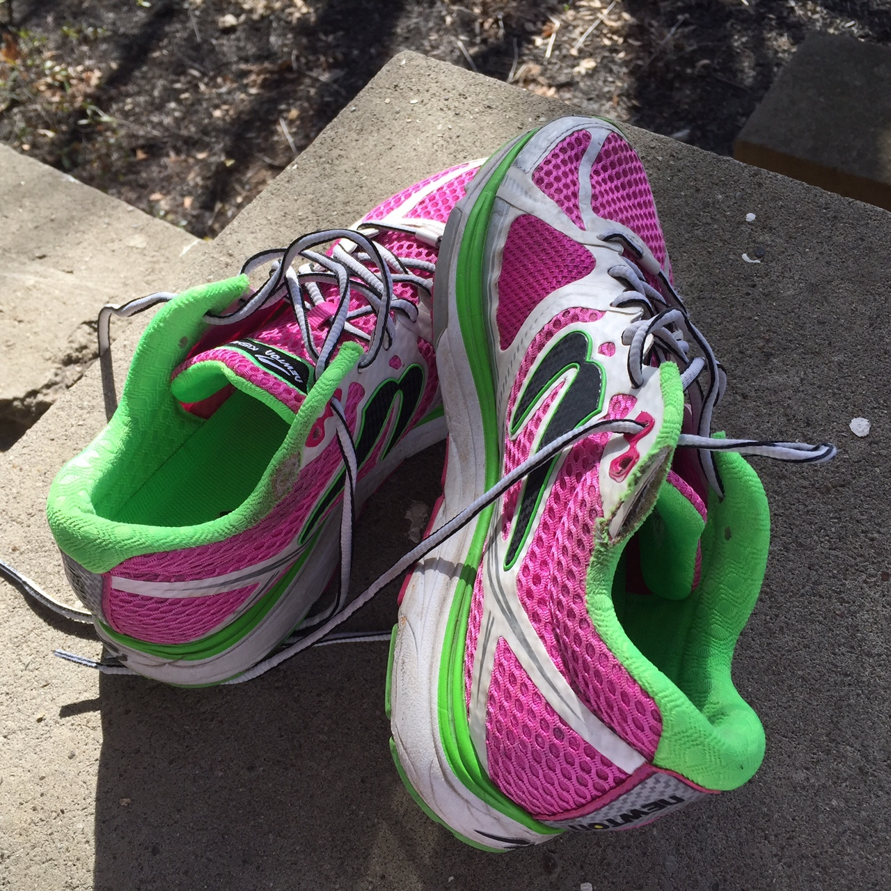 Never  Say Never. Now About the Running Shoes