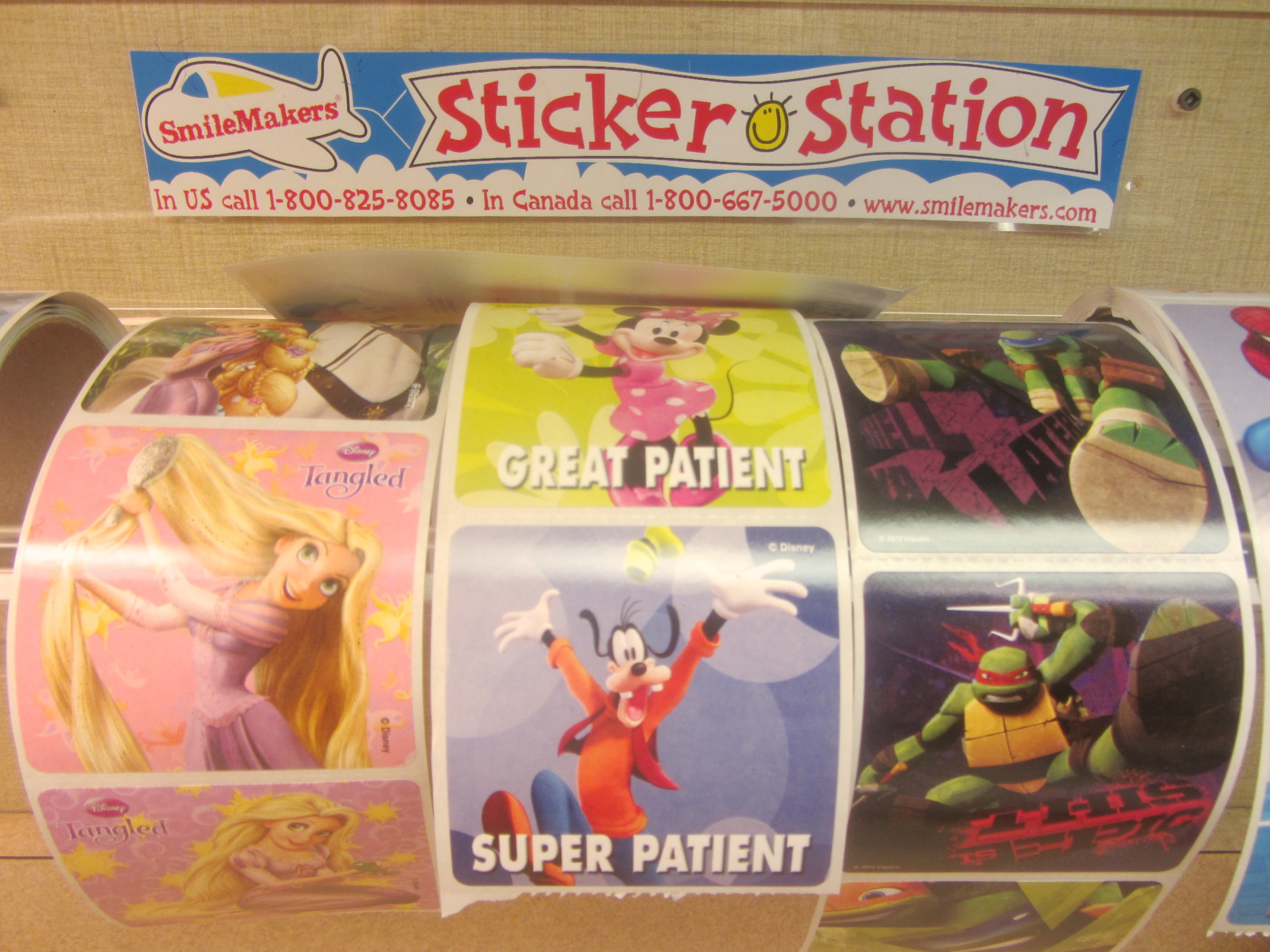 Our sticker collection.