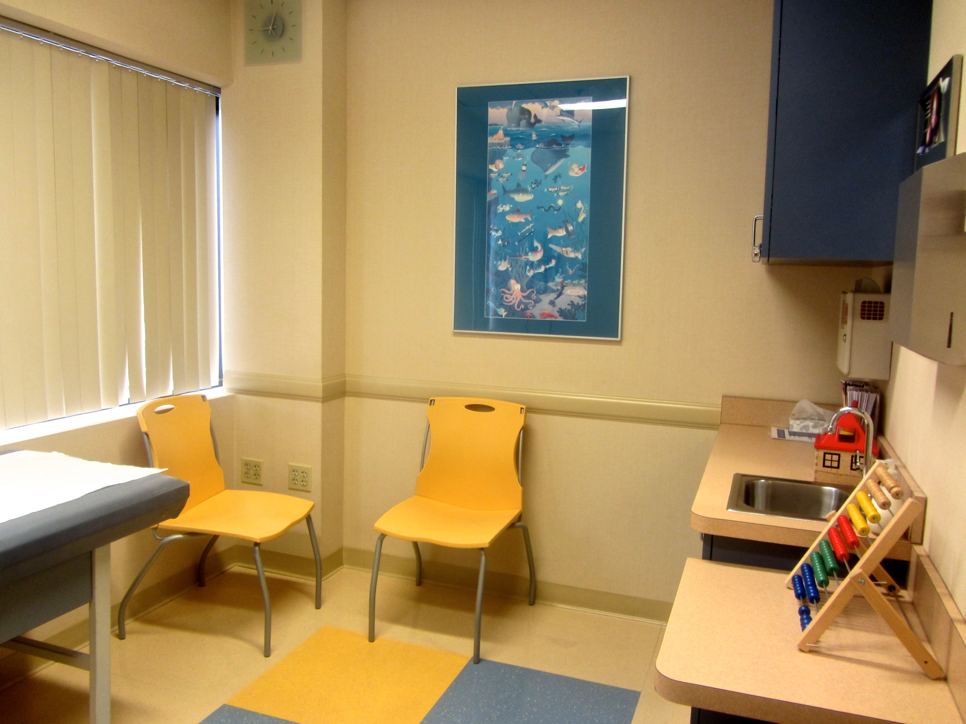 Our examination rooms.