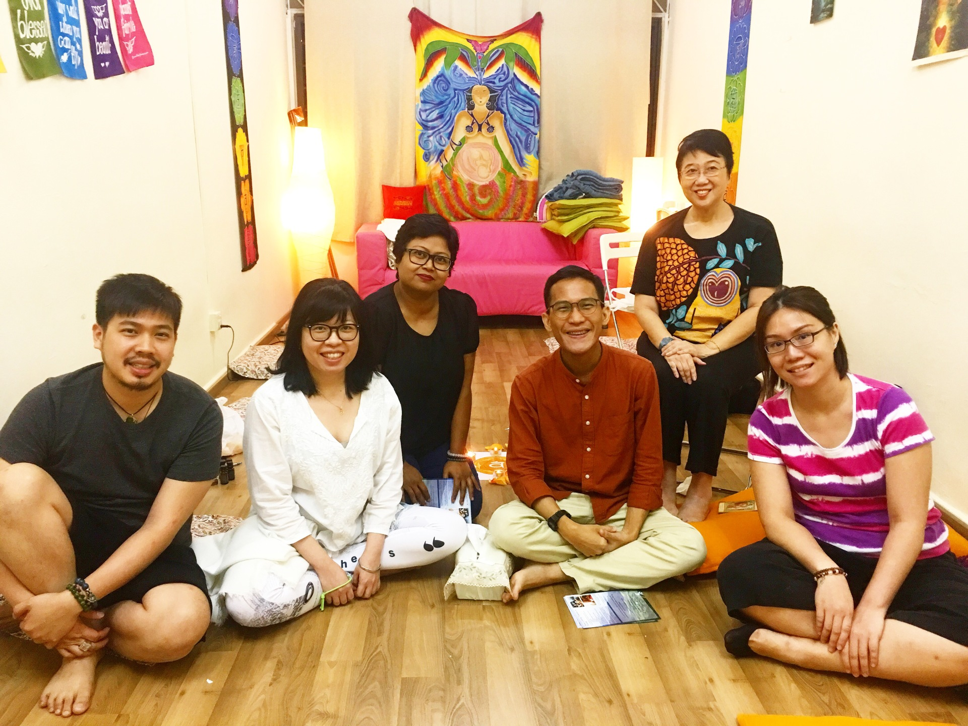 Ceremony of the 6-Petalled Lotus Apr 2018