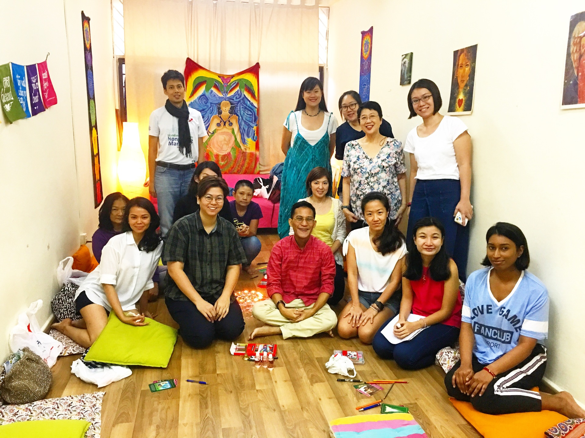 Ceremony of the 12-Petalled Lotus Aug 2018