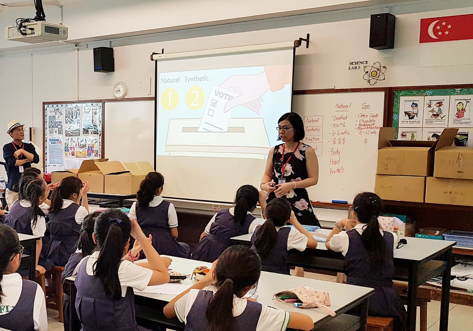 Raffles Experience Day @ Raffles Girls' Primary School May 2019