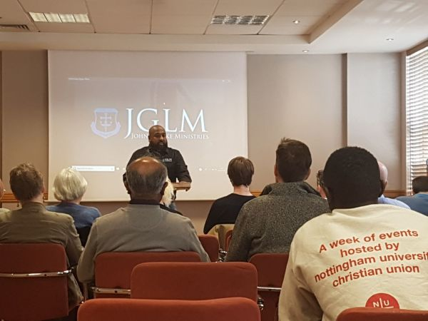 JGLM DHT TRAINING SEMINAR NOTTINGHAM 2018