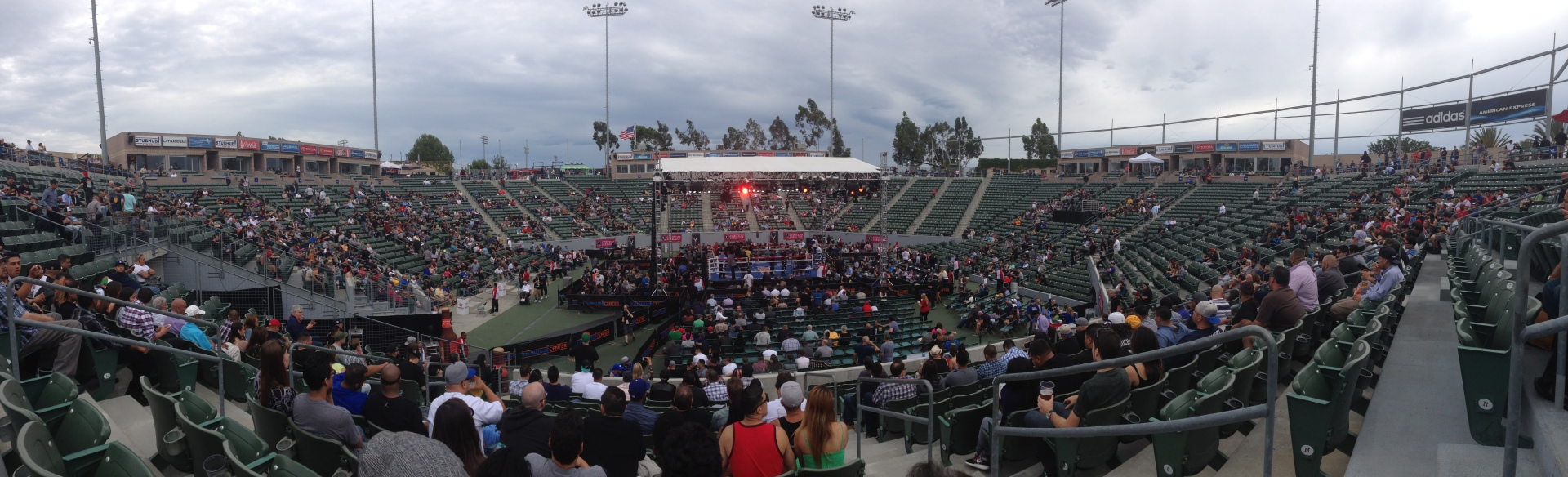 Guerrero vs Martinez Stubhub Center, Carson, CA