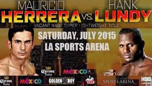 Fight Predictions: Herrera vs Lundy