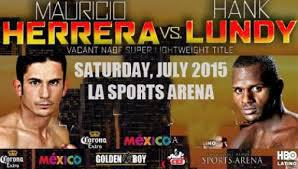 Fight Predictions: Herrera vs Lundy