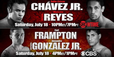 Frampton Picks Himself Up & Chavez Fails to Impress