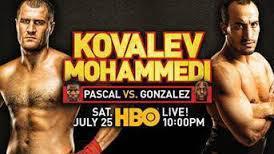 Fight Predictions: Kovalev vs Mohammedi
