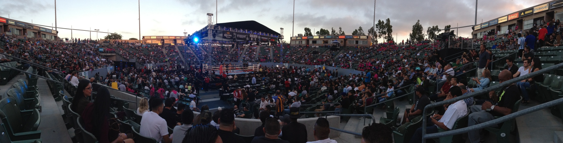 Matthysse vs Postol Stubhub Center, Carson, CA