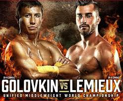 Golovkin vs Lemieux Predictions