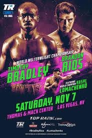 Timothy Bradley vs Brandon Rios Predictions