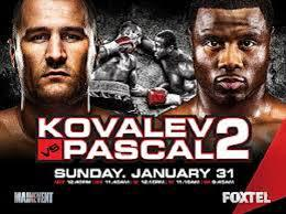 Kovalev vs Pascal II Predictions