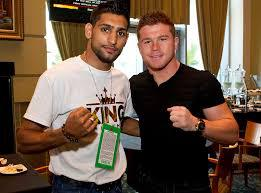 "Golden Boy Says, ""Yes We Khan!"" for Canelo"