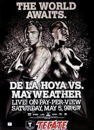 Behind On the Scorecards Series: Oscar De La Hoya vs Floyd Mayweather