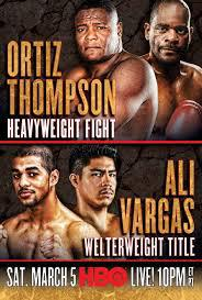 Ortiz Thompson & Ali Vargas Predictions