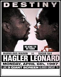 Behind On the Scorecards Series: Marvin Hagler vs Ray Leonard