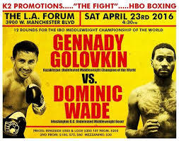 Weekend Predictions: Golovkin vs Wade