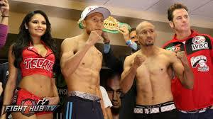 Vargas vs Salido Weekend Predictions