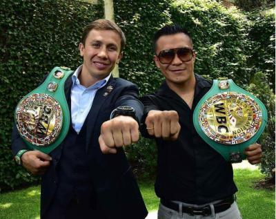"Gennady ""GGG"" Golovkin´s WBC Middleweight Belt Presentation"