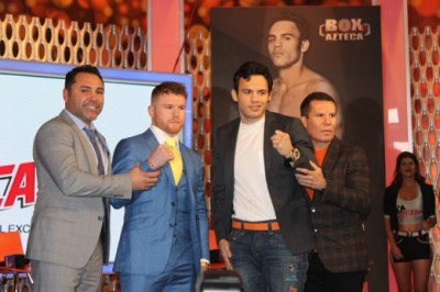 Mexico City Kick off Presser for Saul Alvarez vs Julio Cesar Chavez Jr