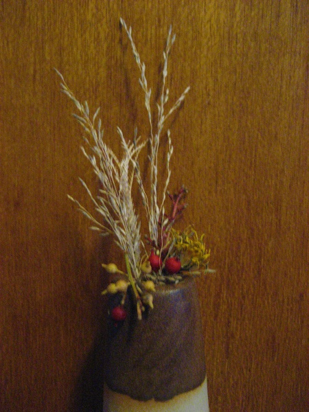 Autumn Ikebana miniature