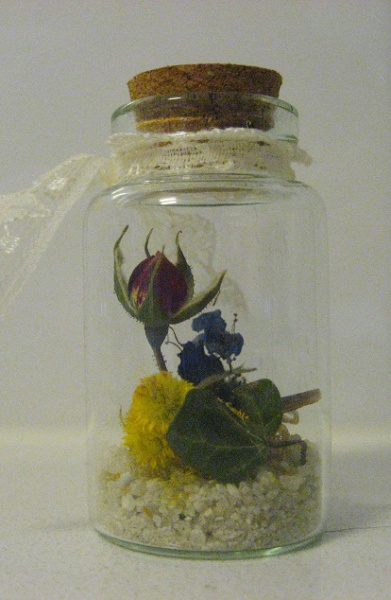 Miniature bloom keepsake