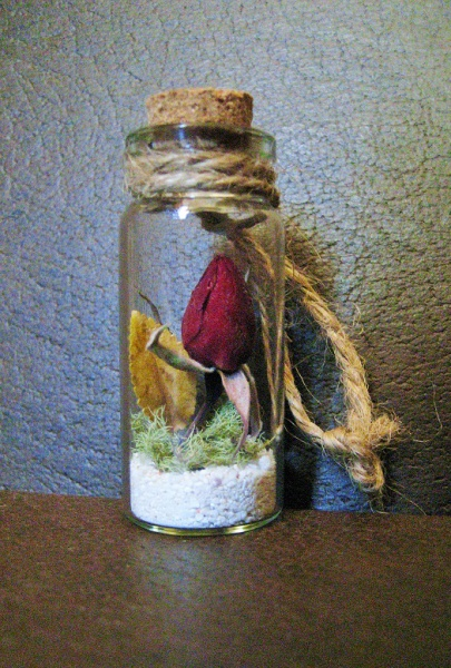 Wedding Bomboniere - 'Autumn rose'