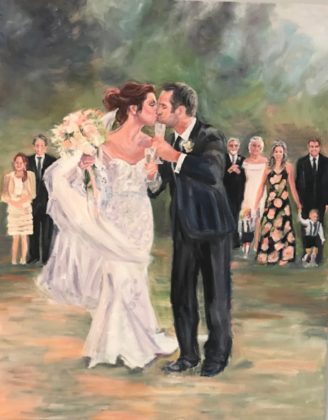 Just Married, wedding gift, Naples florida,