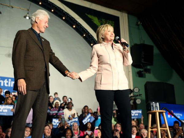 Hillary & Bill Clinton 2016