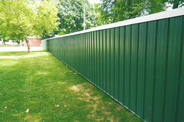 29 gauge Michigan Panel Fence