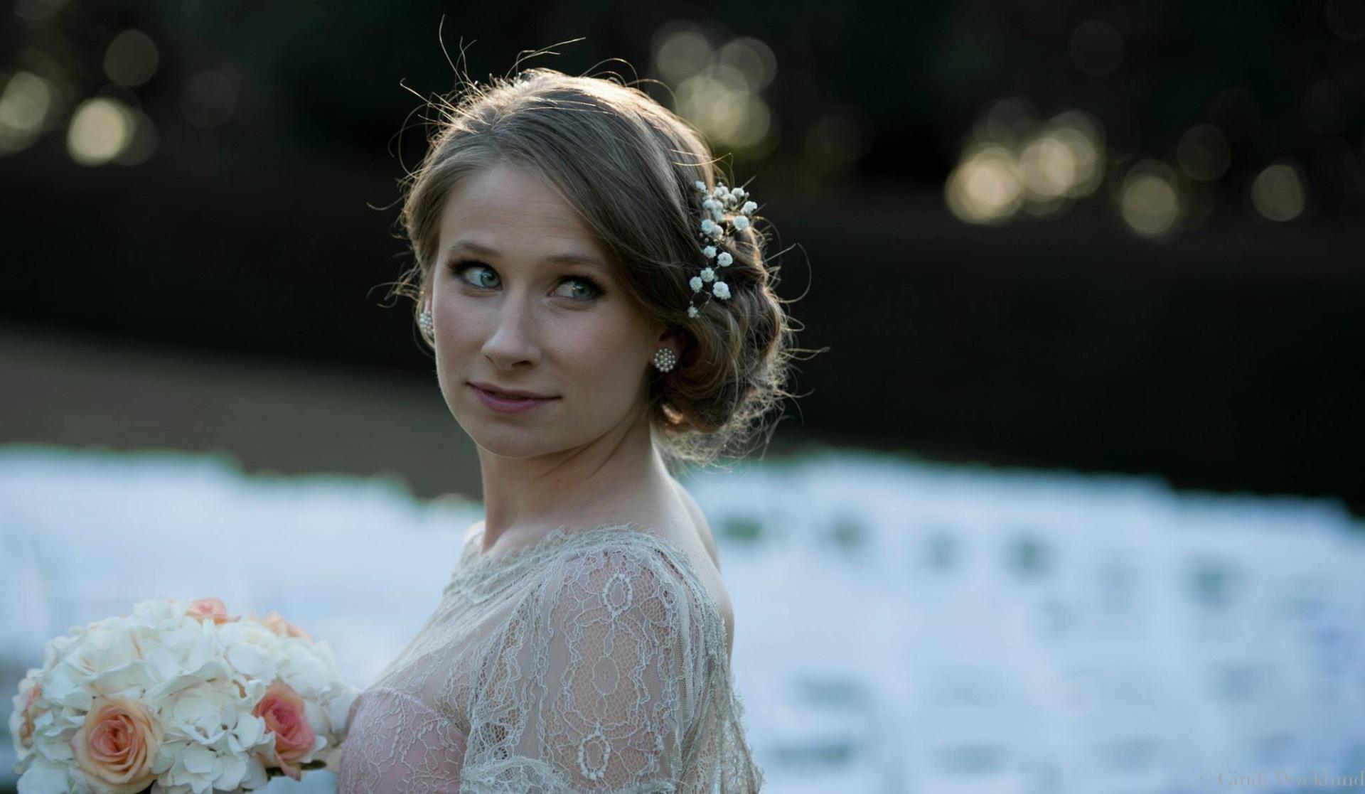 bridal wedding hair makeup beauty
