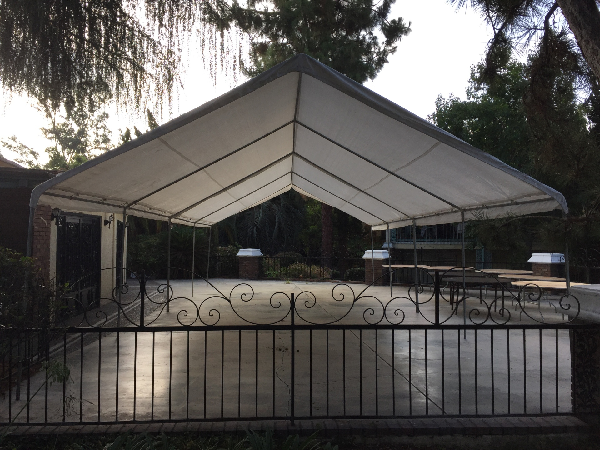 canopy, tent, white canopy, white, tent, 20x20 canopy, big canopy