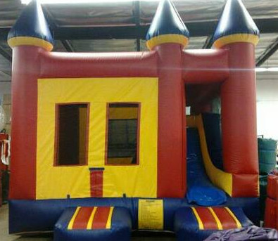 combo jumper, jumper with slide, big combo jumper, 3 in 1 jumper,