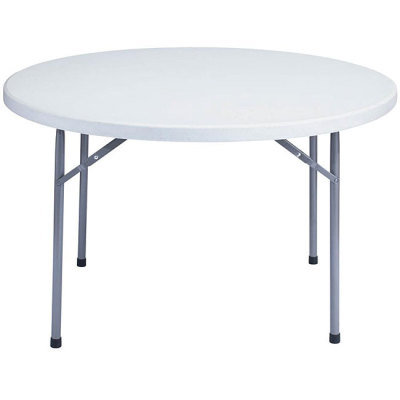 "round tables, white plastic round tables, 48"" round tables, small round tables for rent"