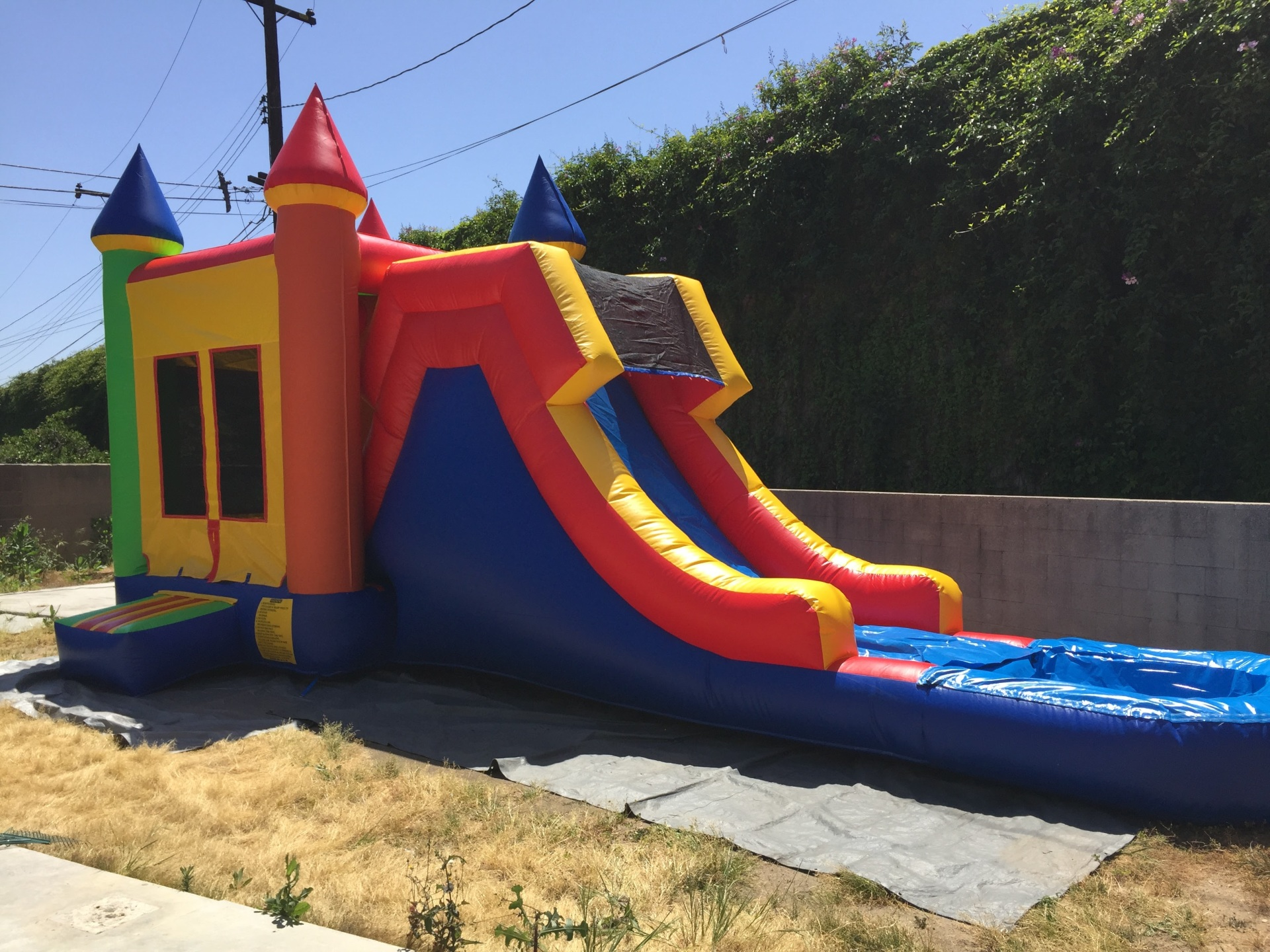 Waterslide Rentals Near me