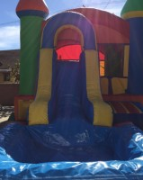 COMBO JUMPER, DOUBLESLIDE COMBO JUMPER, DOUBLE WATERSLIDE COMBO JUMPER RENTAL, JUMPER WITH SLIDE FOR RENT, WATERSLIDE FOR RENT, DOUBLE WATERSLIDE RENTAL, COMBO JUMPER FOR RENT