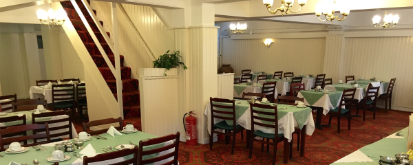 Dining Room at the New Oxford Hotel Blackpool.