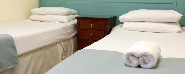 Twin Beds at the New Oxford Hotel Blackpool.