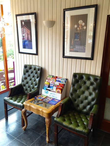 The New Oxford Hotel Blackpool Reception Seating .