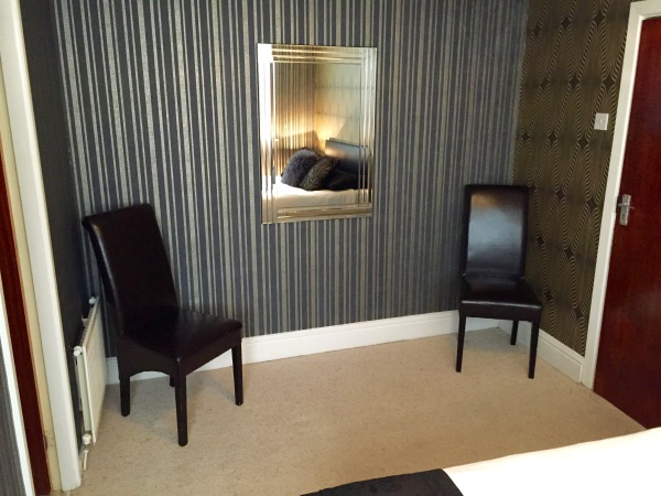 The New Oxford Hotel Blackpool Double Room Seating.