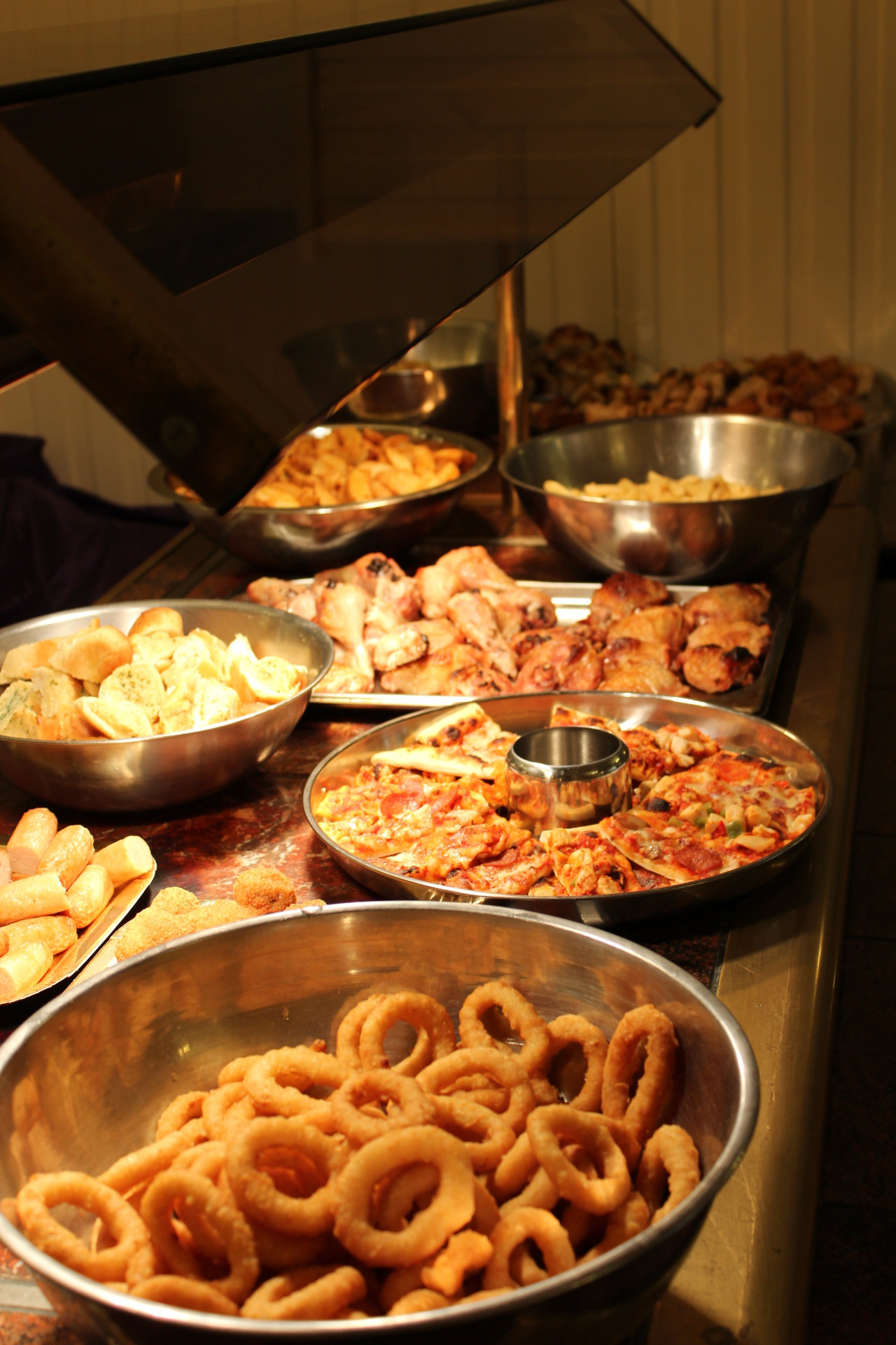 The New Oxford Hotel Blackpool Buffet.
