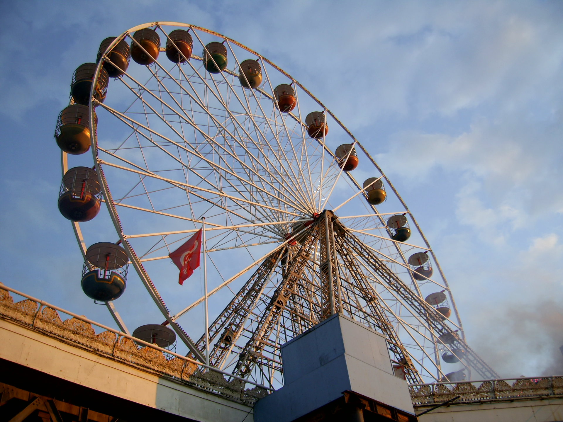The Big Wheel on the Central Pier Blackpool.