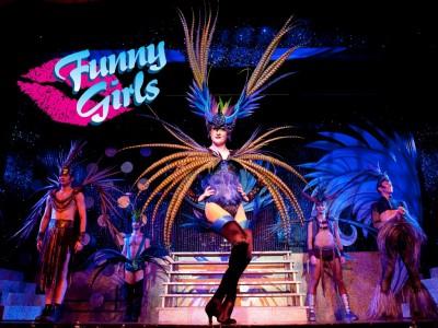 Funny Girls Drag Performer.