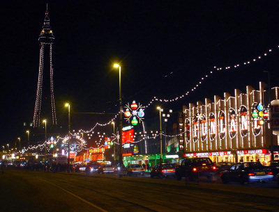 The Blackpool Illuminations Lighting up the Blackpool Prom.