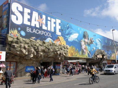 The Sea Life Centre View from the Outside.